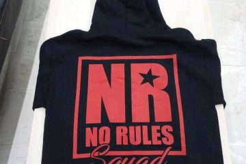 no rules squad sweat shirt