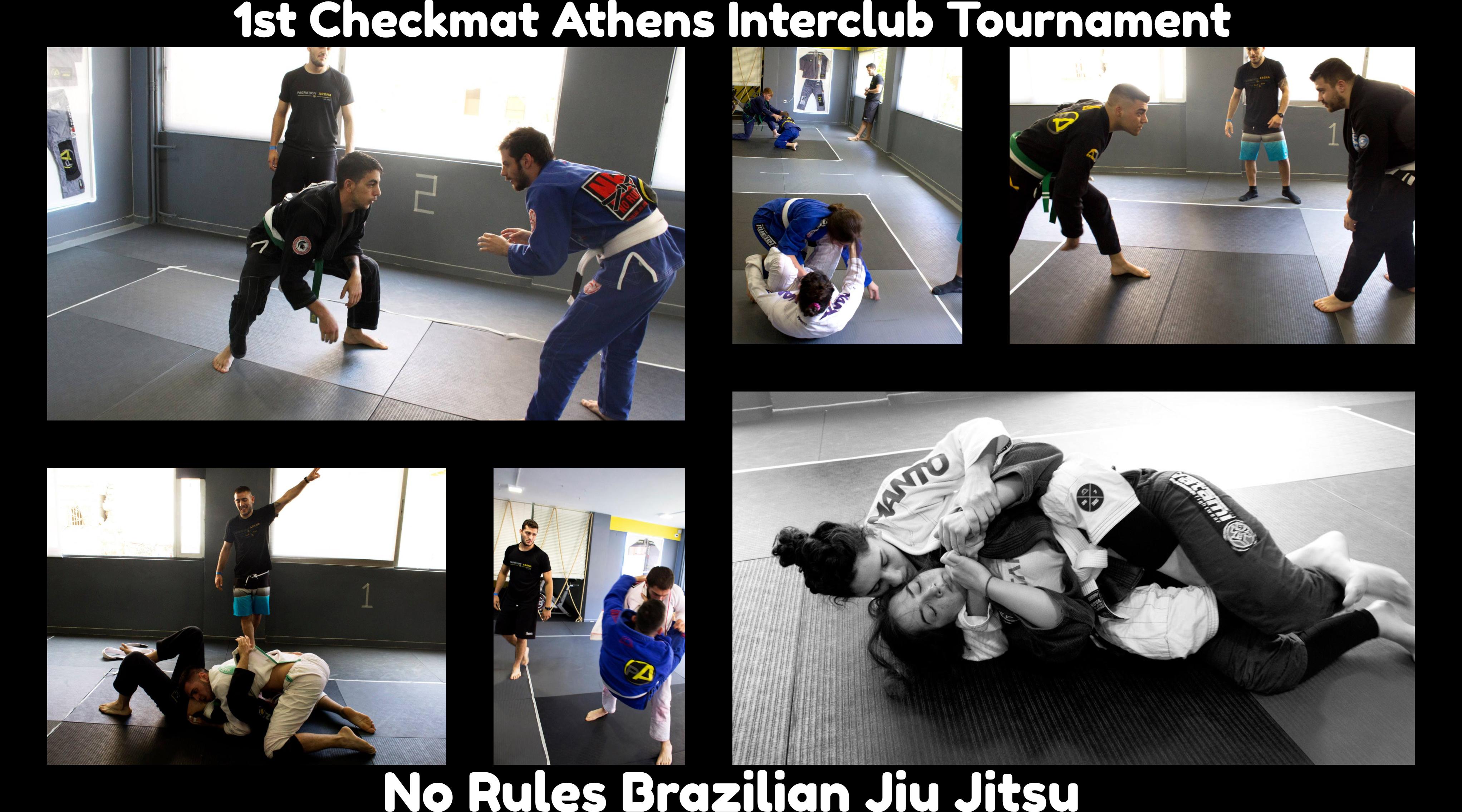 No Rules Brazilian Jiu Jitsu  1st Checkmat Athens Interclub Tournament 3a80e16e64c